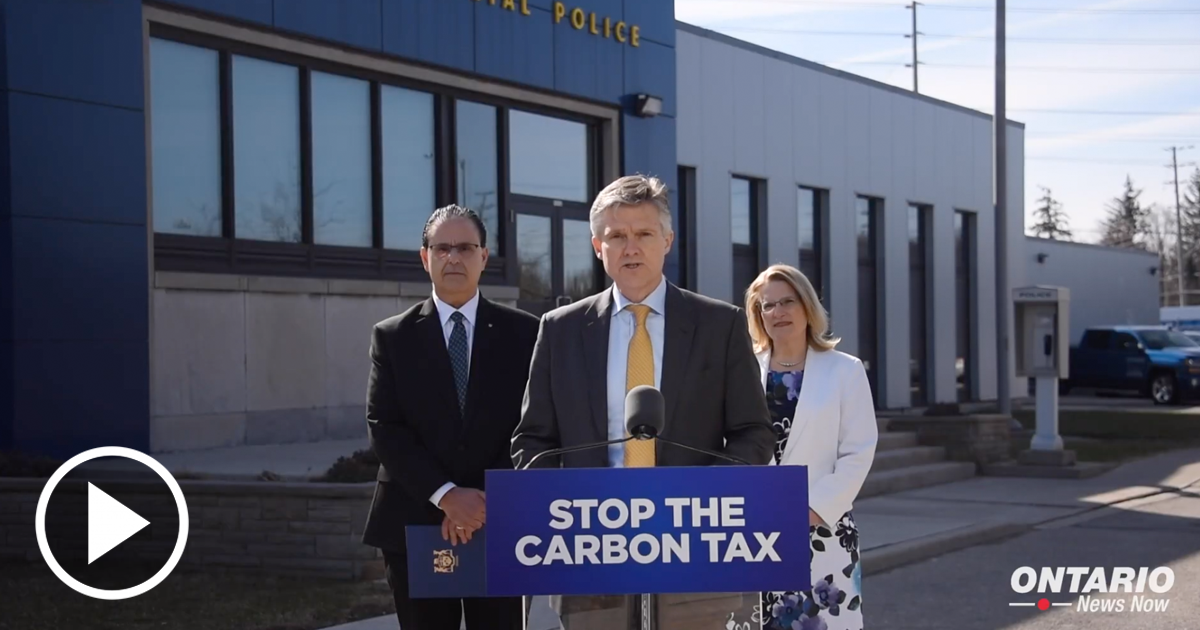 Ontario is Putting People First by Fighting the Burdensome Federal Carbon Tax