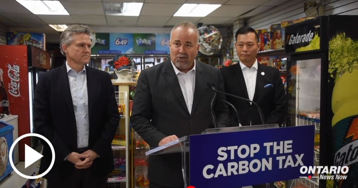 Fighting to protect small businesses from the job-killing Carbon Tax