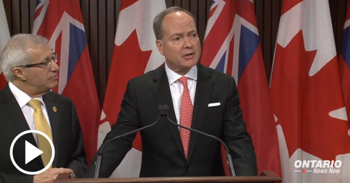 Fitch Ratings agency has upgraded Ontario's financial outlook from negative to stable