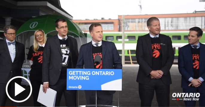 Ontario is moving forward with the next stage of the GO Rail Expansion to improve GO train service