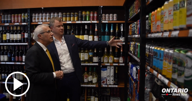Beer and wine sales are being expanded to nearly 300 new retail outlets across Ontario