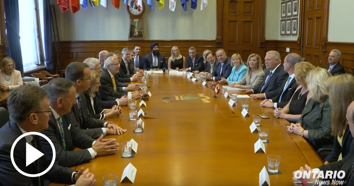 Premier Ford and his new cabinet are excited to hit the ground running!