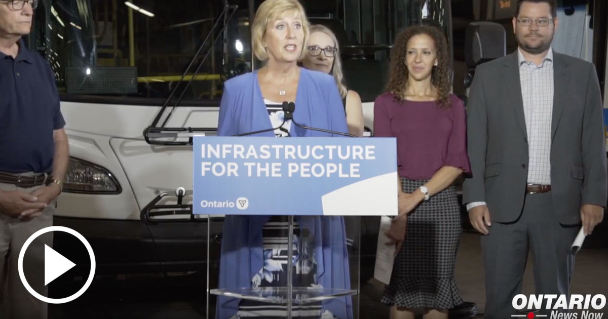 Investing up to $60.7 million for new transit projects in the Region of Waterloo