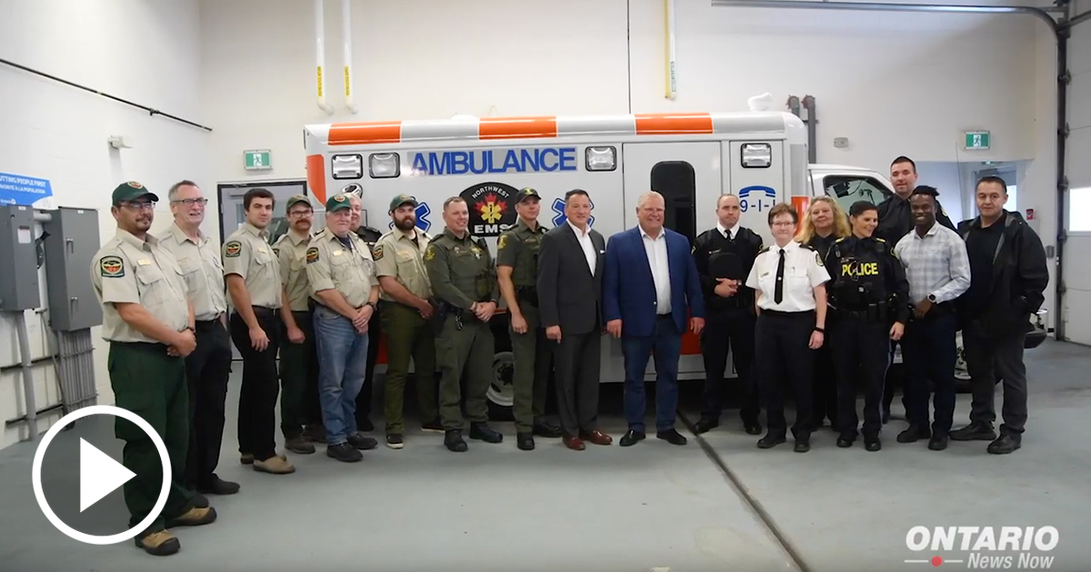Ontario is moving forward with a $765 million investment to build a new Public Safety Radio Network