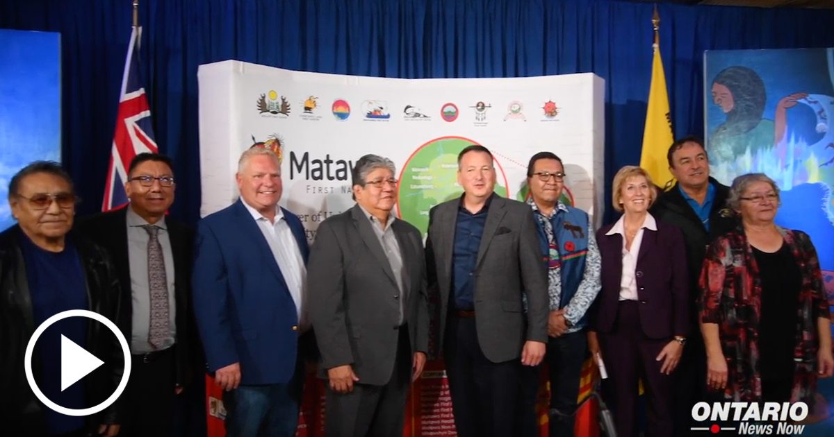 Ontario is making a historic investment in Matawa First Nations to deliver high-speed Internet