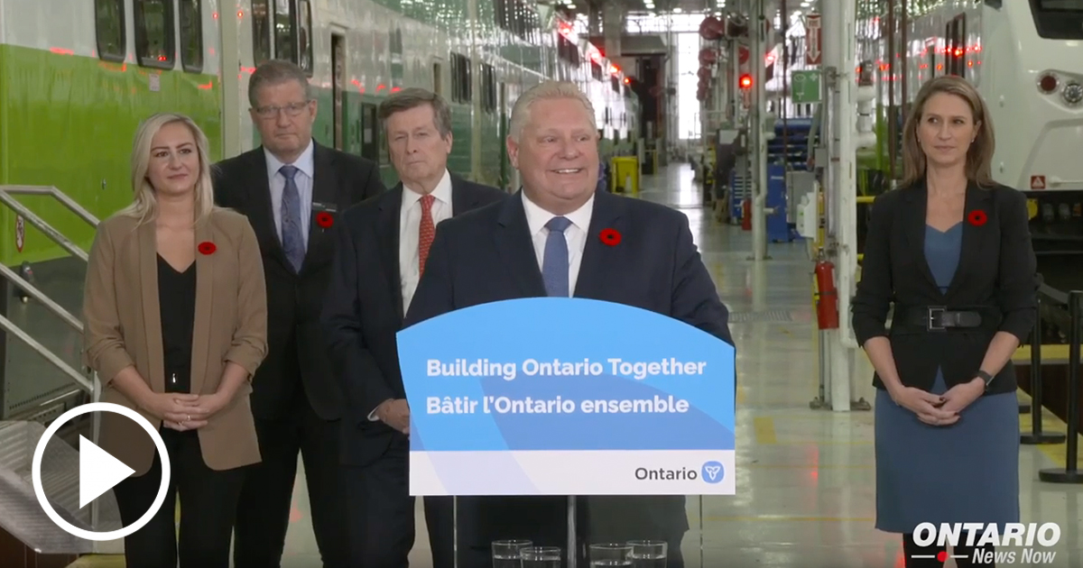 Premier Ford and Mayor Tory celebrate new historic transit partnership to build subway expansion