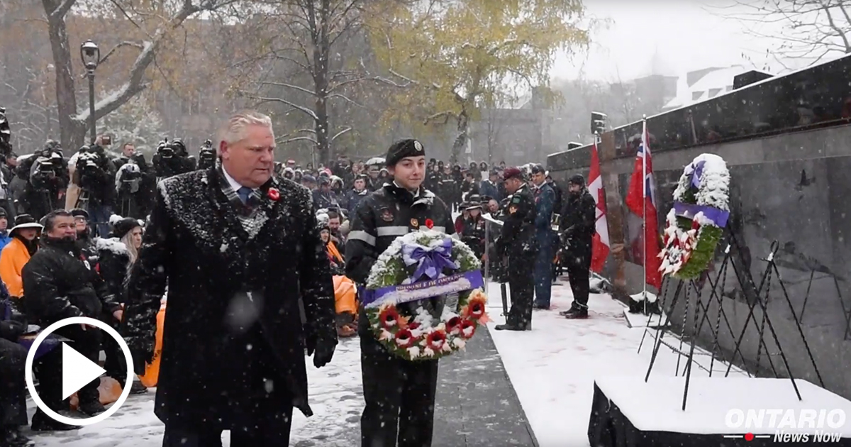 Honouring our Heroes: Remembrance Day at Queen's Park