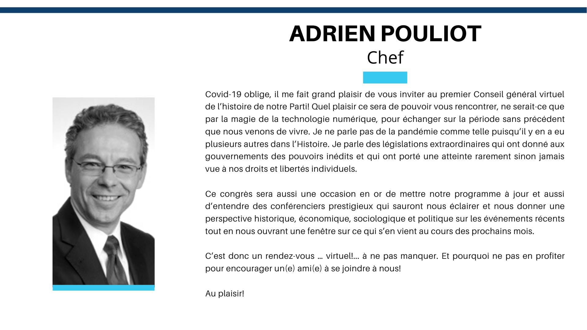 CG2020 Mot Adrien Pouliot