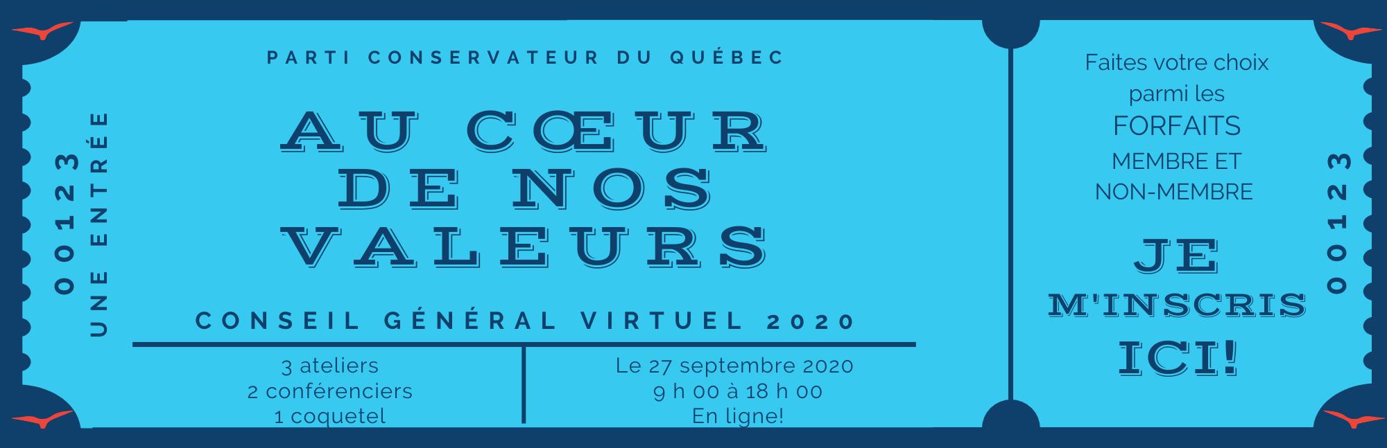 CG2020 Conférences Inscriptions