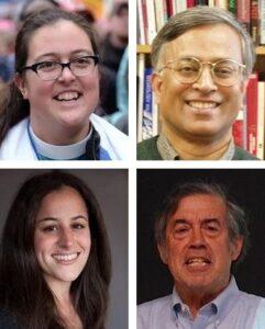 Liz Theoharis, Subrata Ghoshroy, Erica Fein, Jonathan King