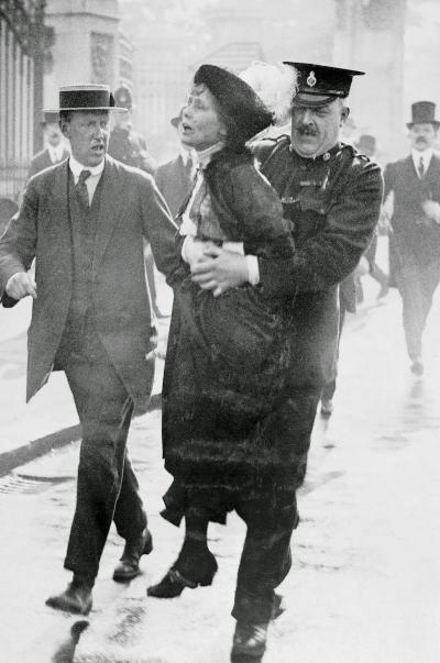 Arrested Suffragette