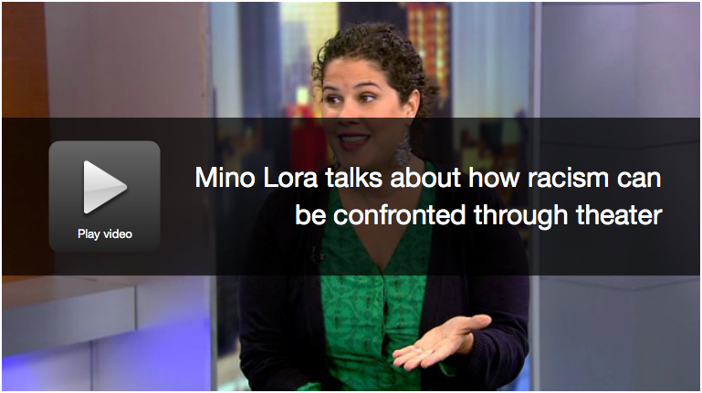 Mino Lora talks about how racism can be confronted through theater