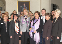 PES Women with Danish PM Helle Thorning-Schmit
