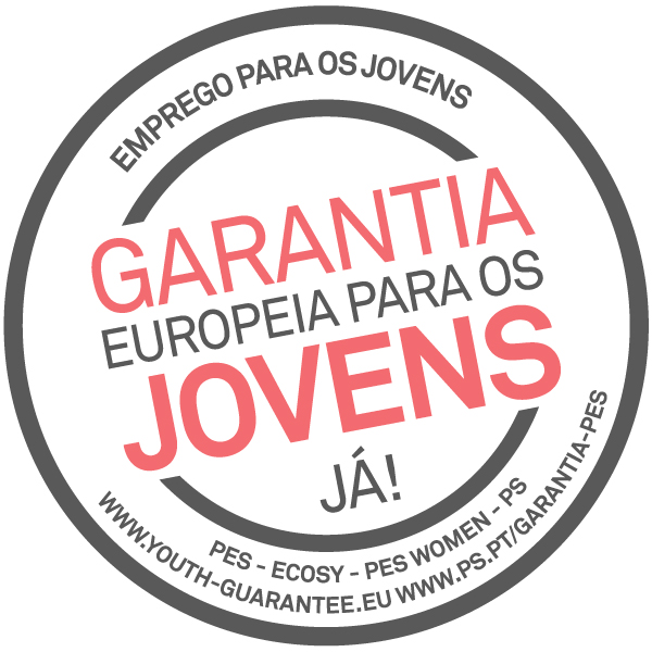European Youth Guarantee - Campaign logo (Portuguese)