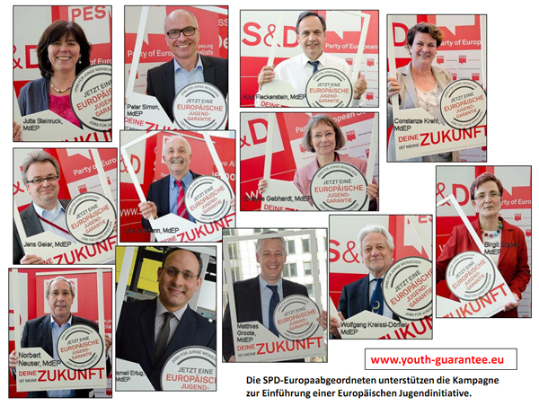 SPD joins the European Youth Guarantee campaign