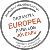 European Youth Guarantee campaign stamp