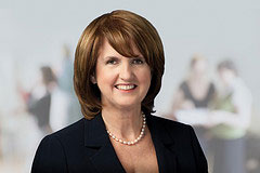 Irish minister for Social Protection Joan Burton