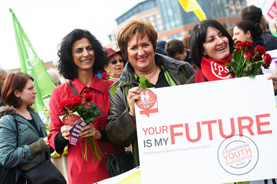 PES Women support the campaign for a European Youth Guarantee