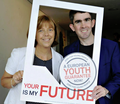 Emer Costello MEP - European Youth Guarantee campaign