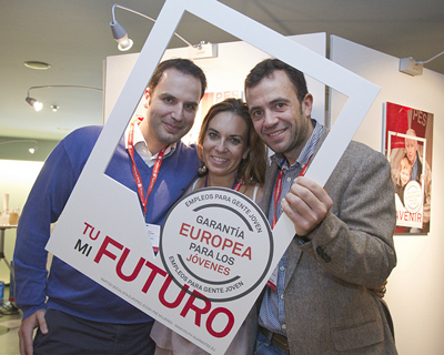 European Youth Guarantee campaign supporters
