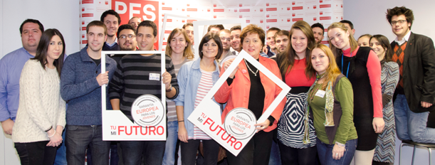 Spanish Youth meets Zita Gurmai to discuss European Youth Guarantee