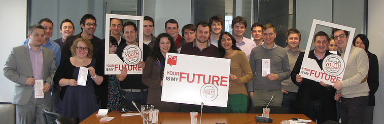 UK Labour Youth - European Youth Guarantee campaign