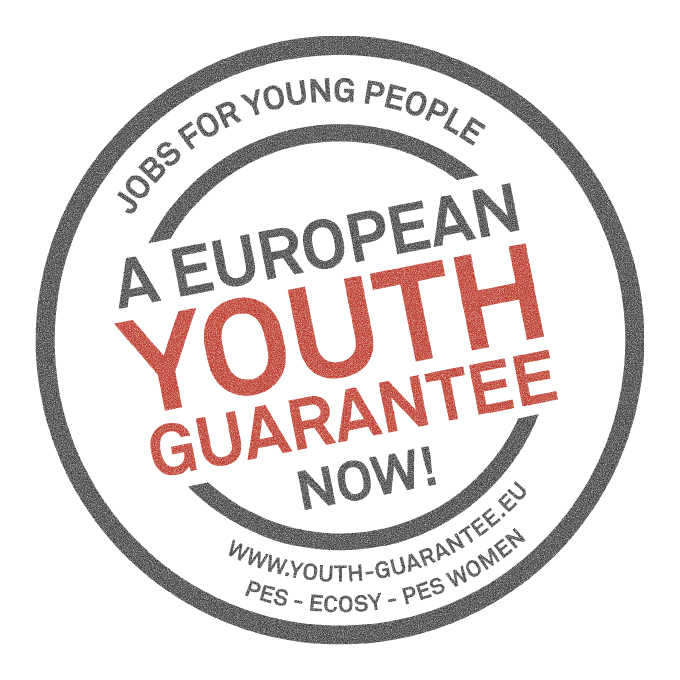 European Youth Guarantee campaign logo