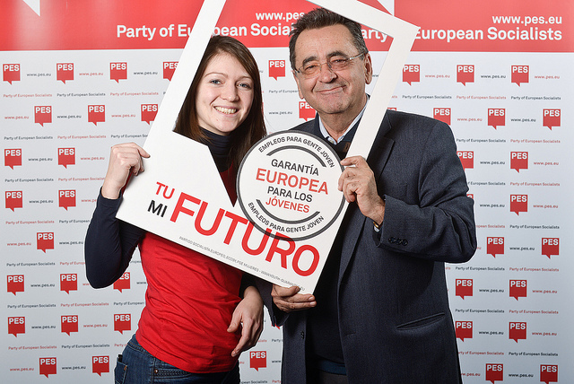 Alejandro Cercas - European Youth Guarantee campaign