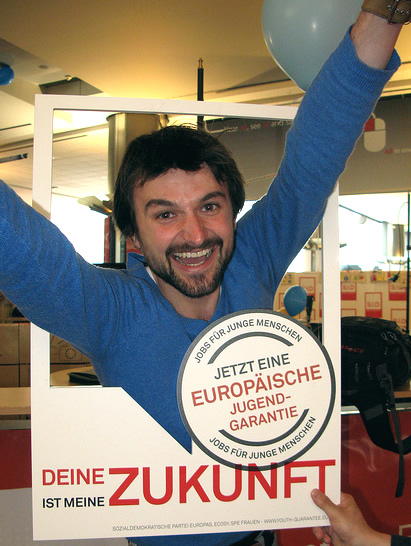 campaigner for a European Youth Guarantee