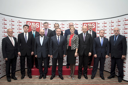 PES family photo - European Youth Guarantee
