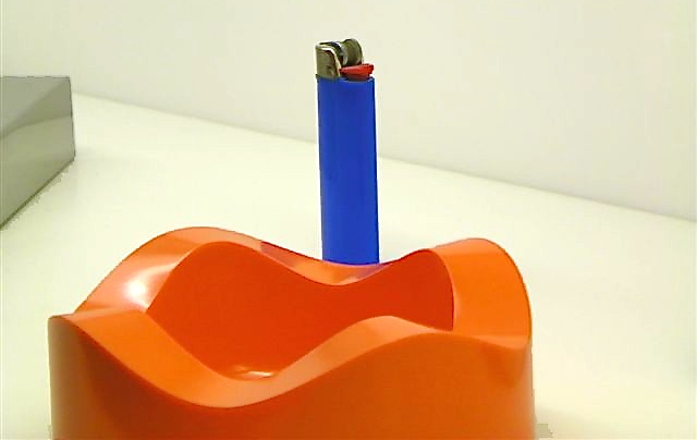 Bic Lighter at the Museum of Modern Art