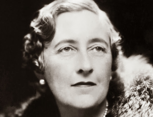 Agatha Christie wrote while taking a tubby.