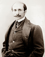 Edmond Rostand was another writer who toiled in the tub.