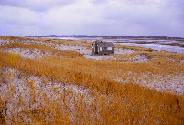 The Outermost House before it was swept out to sea by a 1978 hurricane.