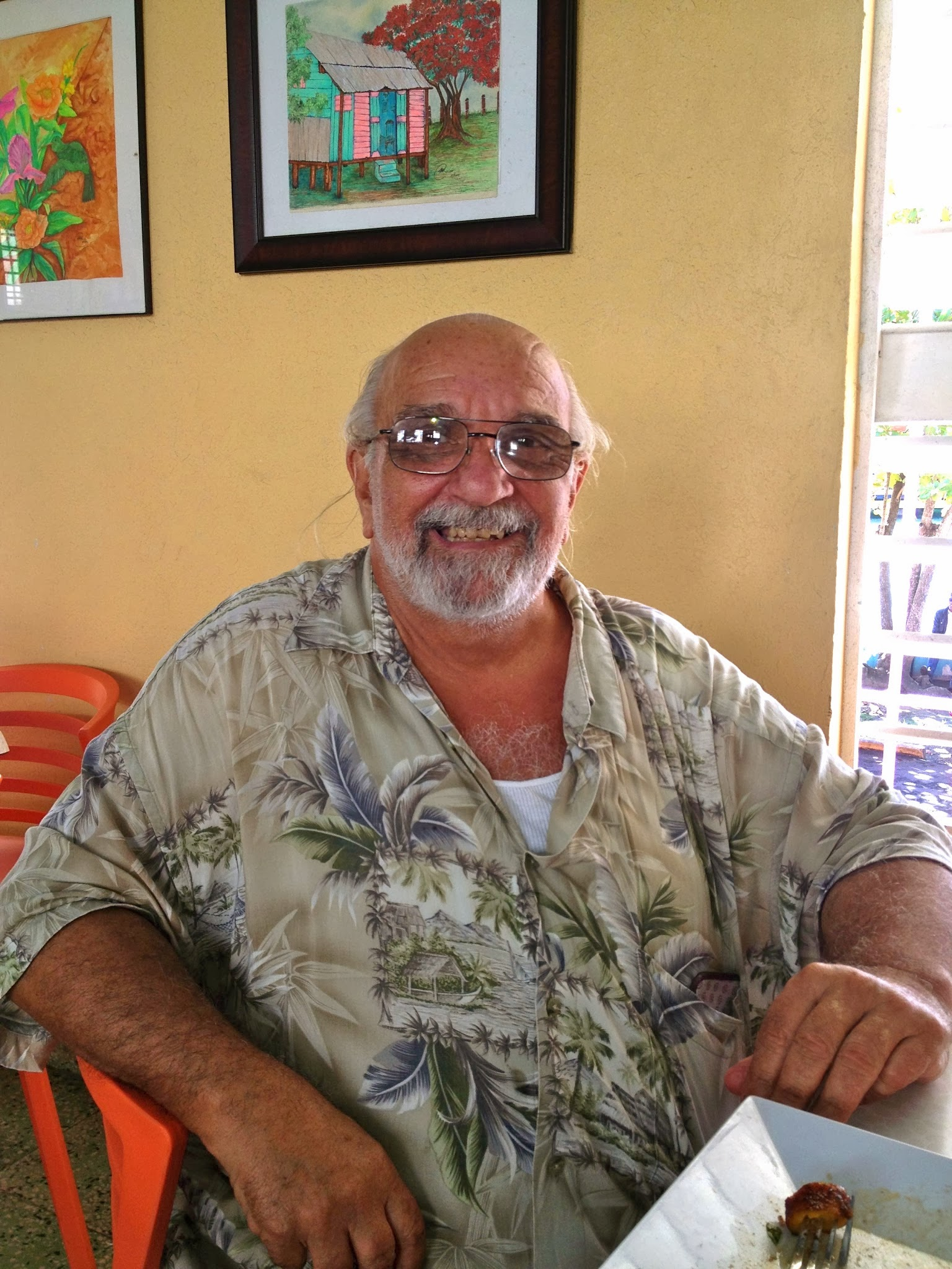 Vinny Tozzi, the one-person philanthropist of Vieques.