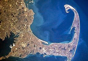 Cape Cod, home to our Truro B & B, became an island 540 feet off the mainland when the canal was dug in 1914.