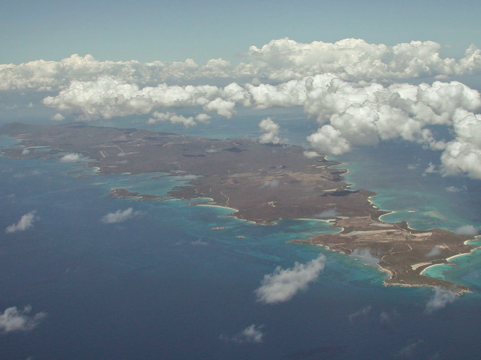 Vieques, an island off the island of Puerto Rico, where we operate a bed-and-breakfast.