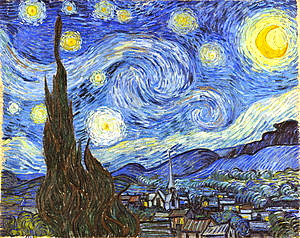 """The Starry Night"" was painted by Vincent Van Gogh in June 1889."