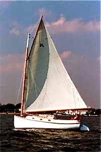 The classic New England catboat
