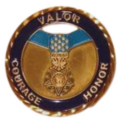Honor and Valor Coin