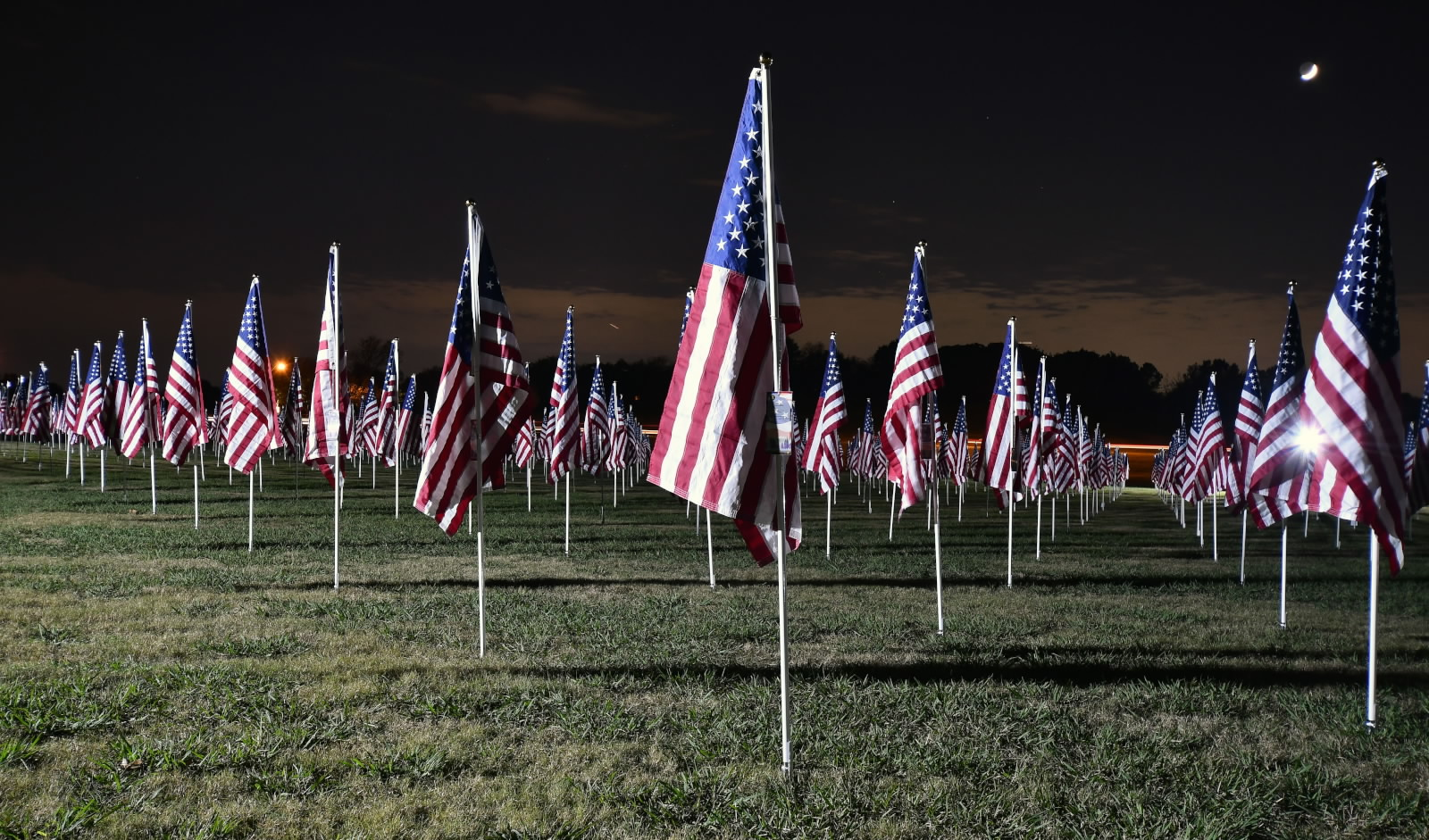 2018 Plano Flags of Honor Field