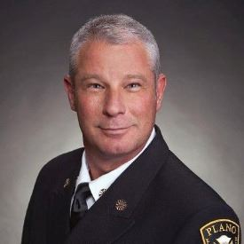 Plano Fire Chief Sam Greif