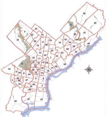 Ward Map Philadelphia 2019 Citizens' Guide Makes the Case for Ward Redistricting