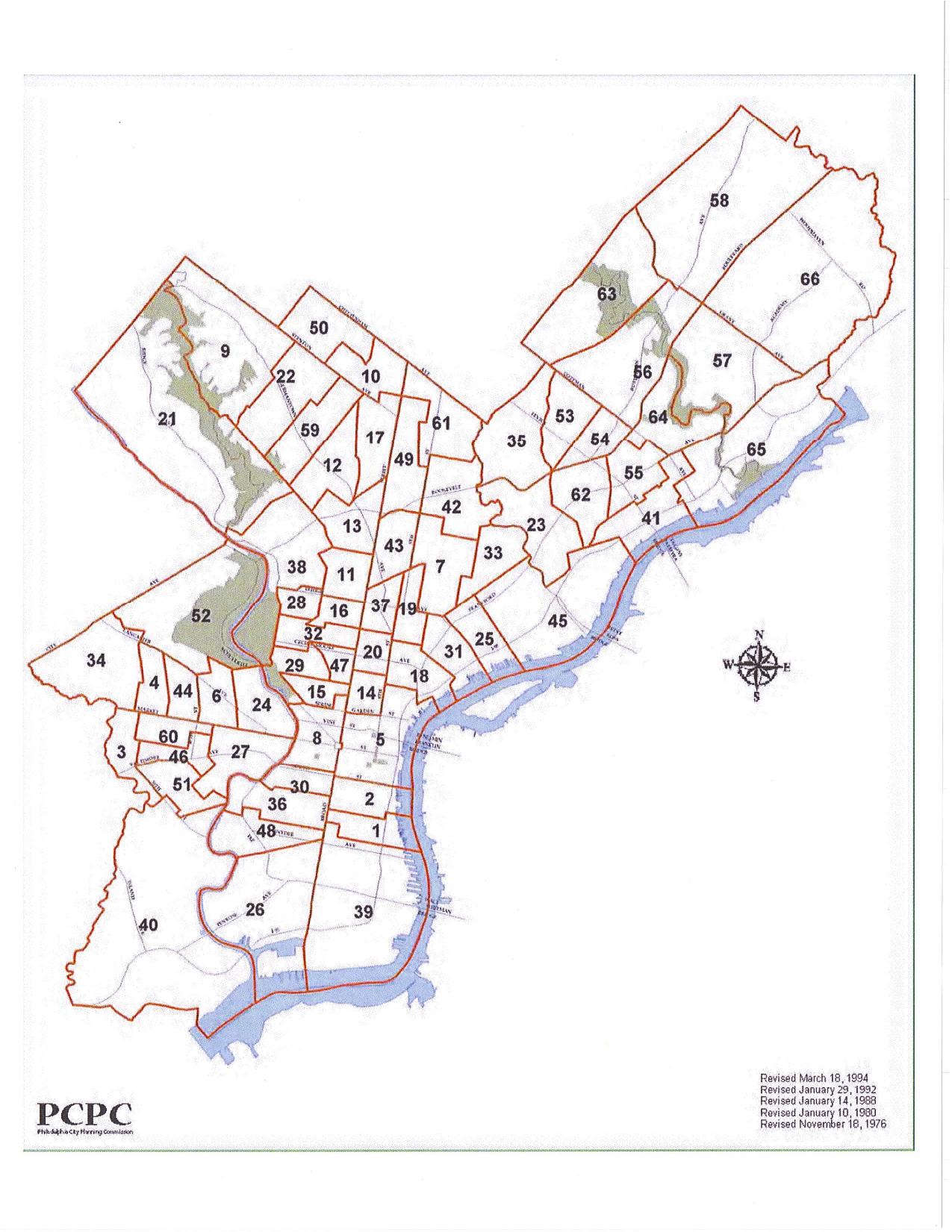 Ward Map Philadelphia Bob Brady Says