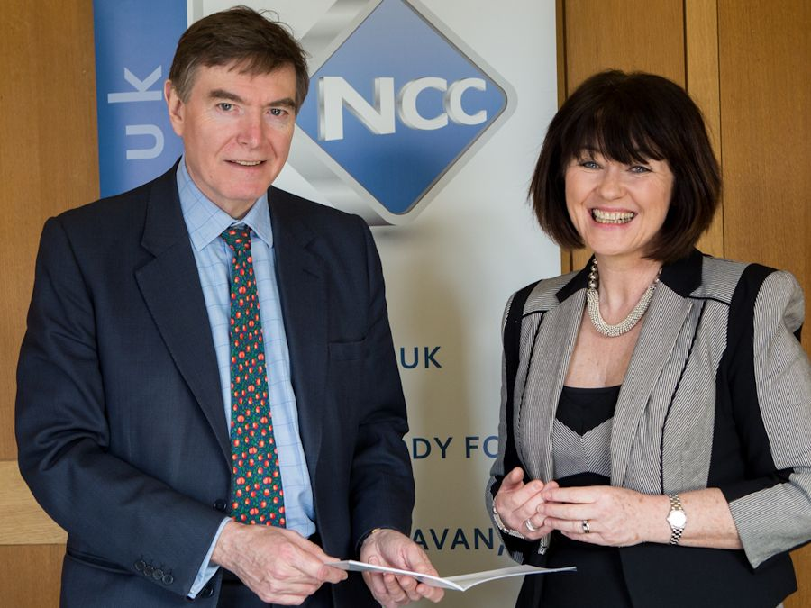Philip Dunne meets National Caravan Council
