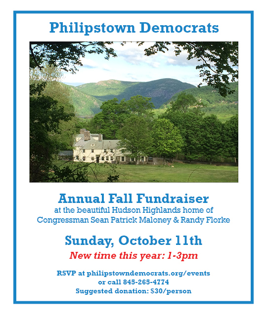 Philpstown Democrats Annual Fall Fundraiser 2015