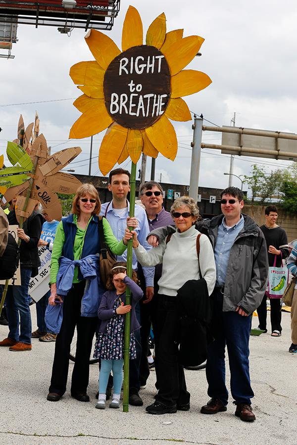Families came together to fight for the right to breathe