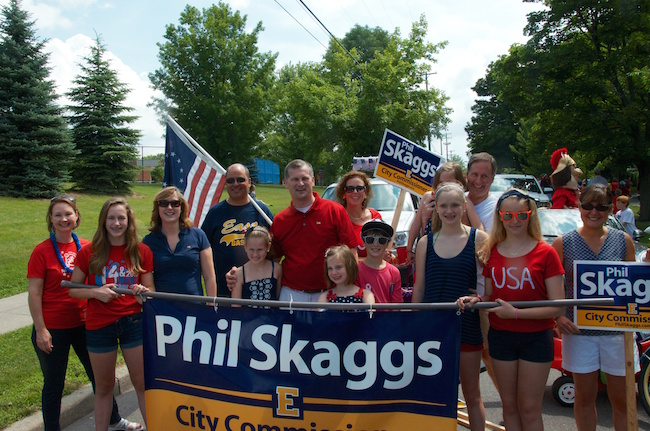 Phil Skaggs parade volunteers