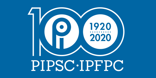 PIPSC 100th anniversary 1920-2020