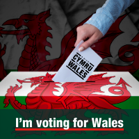 I'm voting for Wales